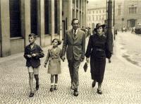 rodinná procházka po pražských Příkopech