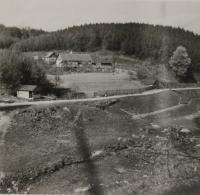 Cottage Rybník near Častá village, where Michal Mihálik was hiding flyers