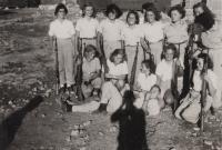 In kibbutz Kabri 1949