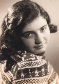 Ela Steinová-Weissberger, přítelkyně z pokoje 28 v Terezíně