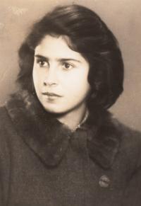 Eva Sternová, přítelkyně z pokoje 28 v Terezíně