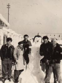 Sníh v Ha-Chotrim, 1950