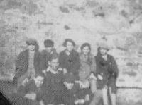 Young group of Tchelet Lavan, Jihlava 1935