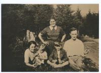 Tejček family before the war