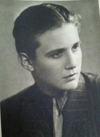 Brother Vladimír Tejček on Novembe 11, 1944