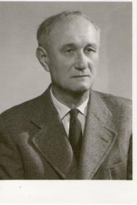 Witness´ father, František Tejček, in his older age