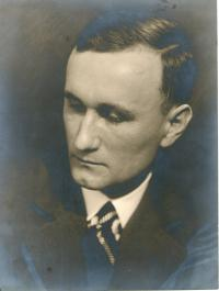 Ing. František Tejček, witness´ father