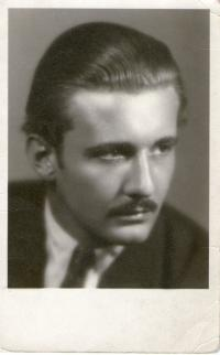Brother Vladimír Tejček in 1948