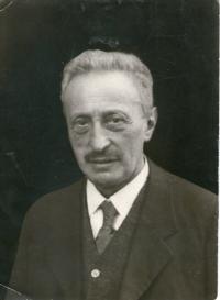 Ludvík Edelstein, born on April 7, 1865, witness´grandfather
