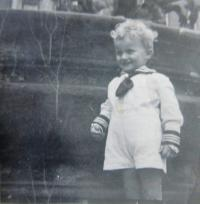František Pachman in childhood