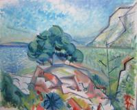 Painting by Zdeněk Adamec