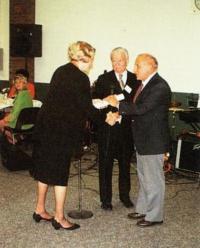Josef Cermak takes Masaryk price