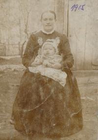 Marie  Hušťová, mother in law of Stanislav Chromčák