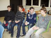 Student team during the project Příběhy našich sousedů