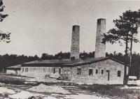 Krematorium č IV . duben 1943