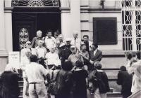 Sraz Birkenau-boys 1994, Brod vlevo dole