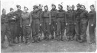 Women in the Czechoslovak army in the USSR, Mrs Koutná is marked by a cross