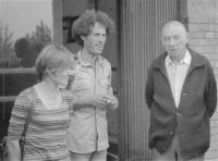 Mária Pap, János Kenedi and Ferenc Donáth