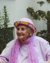 Pavla Kováčová celebrating her 100th birthday