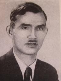 František Prokop se kterým v odboji spolupracovala Jarmila Foralová