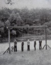 Poprava odbojářů skupiny Jiskra v Lískovci