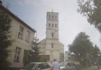 The church in Horní Heřmanice (Ober Hermsdorf in German)