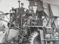 Hubert Kirchner at the state farm