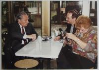 With the editor Antonín Zelenka by interview