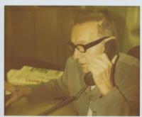 Jaroslav Haidler in Editorial Office of Daily Průboj