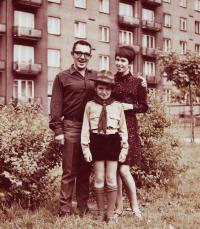 Jaroslav Haidler with his family