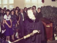 Vlasta Černá's graduation