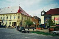 Big Square in Jindřichův Hradec, ing. K.P. had a part on its reconstruction