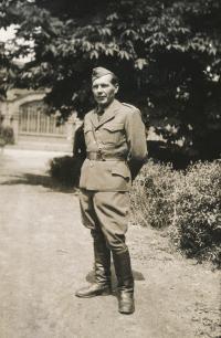Václav Vlk, father, Praha 2.6.1945