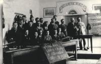 Course of music in Boratín, 1934