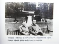 Vavrda and Kotasek in London before leaving