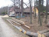 The gamekeeper's lodge Na Ostrých today