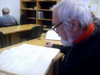 Mr. Čelakovský in archive