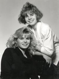 van Landsmann's Daughters, Eva (on the Left) and Ilona (on the Right) (Karviná, 1992)