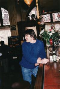 Ivan Landsmann at Axum Bar (Rotterdam, 1999)