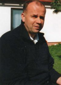 Miroslav Jirounek on visit at friends in Bezno near of Mladá Boleslav - 2006