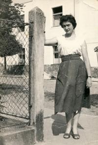 Jana Andrlíková at the age of 19