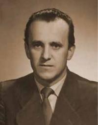 Josef Hasil v roce 1953