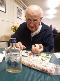 Easter hamper - Josef Hasil still likes Czech products and traditions