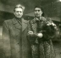Wedding photo of Mr. and Mrs. Kachlík
