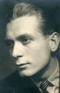 Antonín Kachlík as a young man