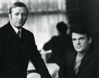 Antonín Kachlík and Milan Kundera