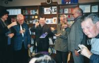 Launch of a book about Hašek