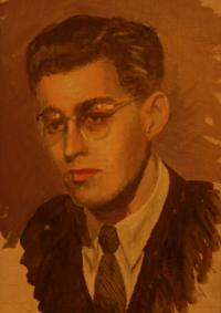 A Portrait of Hugo Engelhart on the Day of His Marriage