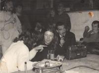Jiří Chmel with Karel Schwanzenberg in Nachtasyl