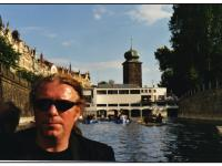 Jiří Chmel in Prague in 90th
